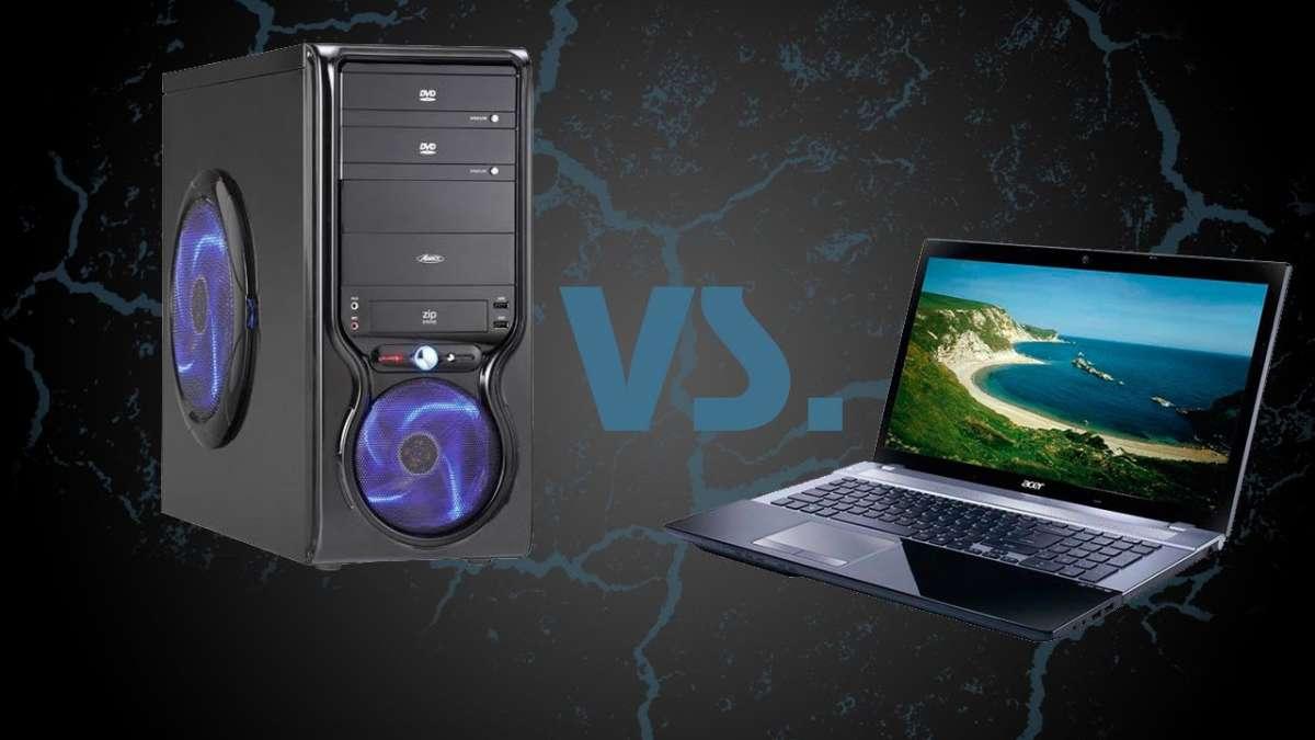 مقایسه لپ تاپ و کامپیوتر کارکرده