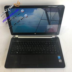 لپ تاپ کارکرده اچ پی Hp Pavilion 15-n245ee با پردازنده i7